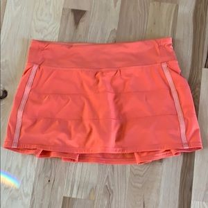 Lululemon Pace Rival Skirt, 4-way stretch. Sz 8